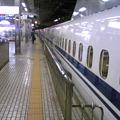 写真: 始発新幹線@名古屋。びっく...