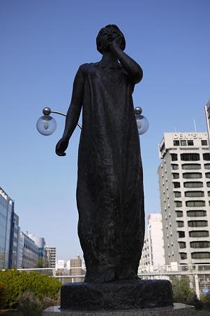2010.03.14 築地川銀座公園 月を呼ぶ 佛子泰夫