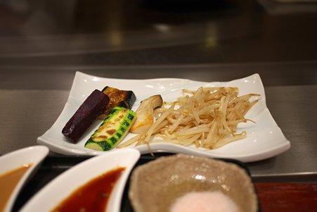 2010.11.20 横浜ベイシェラトン ホテル ランチ 季節の野菜