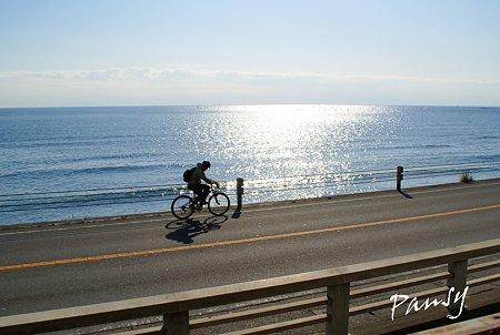 潮風と・・cycling~♪