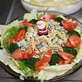 Photos: 肉ばかりでも何なのでサラダです。