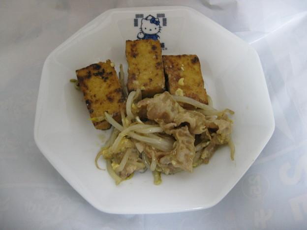 豆腐ともやしのチャンプルー