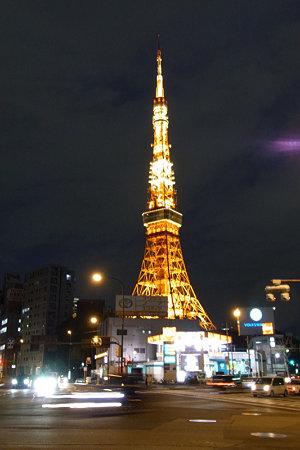 東京タワーライトアップ2010年a