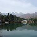 千人塚公園から中央アルプス遠望