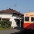 Photos: Kominato / 小湊鉄道・駅舎と列車