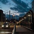 黄昏のアメリカ橋