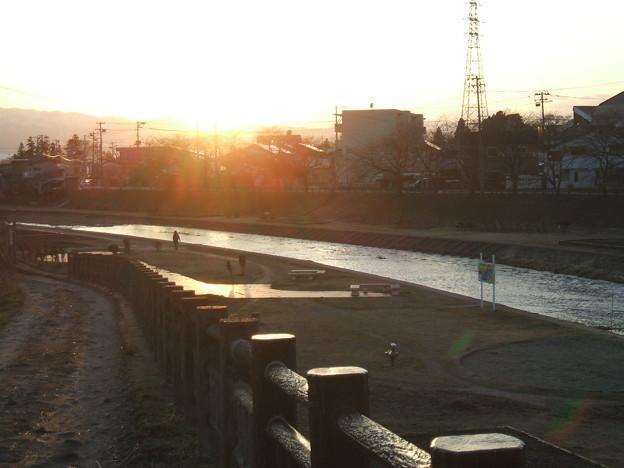 湯川の夕暮れ - 2