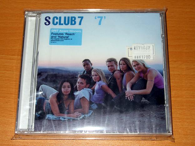 CDアルバム S CLUB 7 - 7 (UK版) 表