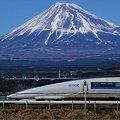 Photos: 500系と富士山