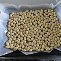 写真: 奥薗式の炒り豆