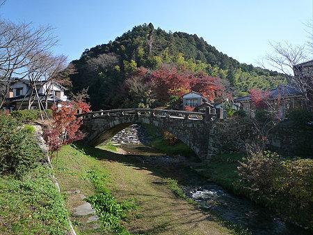 秋月~眼鏡橋の紅葉