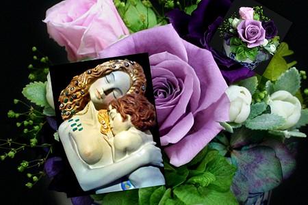 クリムトと薔薇