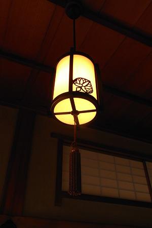 戸定邸 電燈