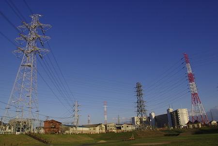 新郷東部公園から見た青空
