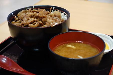 豚こま丼味噌汁付き(東名阪道【下り】・御在所SA)