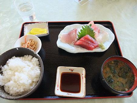 お刺身定食(道の駅・紀伊長島マンボウ【三重】)