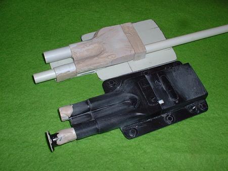 放置していた ノダヤ 通販 KITとスクラッチ途中の「ハンド ファイヤーリングメカ二ズム MK-2」doburoku-TAO