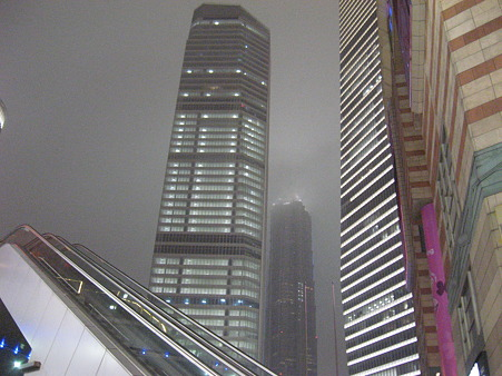 上海って都会です